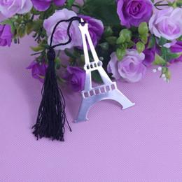 Descuento torre eiffel al por mayor del partido La torre Eiffel de Wholesale-50PCS marca una dirección de la Internet el partido suministra las decoraciones de la fiesta de bienvenida al bebé los favores de la boda favores y regalos personalizados de la boda