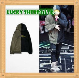 Patchwork Hooded Hoodies Men Women Hip Hop Kanye West Men Hoodie Brand Irregular Men Winter Sweatshirts Plus Size SMR0830-4