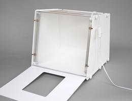 Éclairage de la rampe à vendre-5500LUX 110V-250V 310 * 225 * 230mm SANOTO MK30 Portable Mini Lumière LED Booms Photographie Photo Studio Light Box Softbox