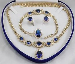 Bijoux de femme aigue-marine couleur or jaune Boucles d'oreille Bracelet Collier Anneau à partir de bague en or aquamarine fournisseurs