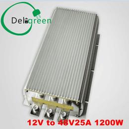 Dc convertisseur 12v 48v en Ligne-12V à 48V 25A 1200W DC CC Convertisseur Régulateur Voiture Step upboost module alimentation Livraison gratuite