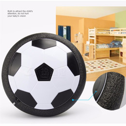 NEW ITEMS Led Air Power Soccer Ball Disc Indoor Football Toy Multi-surface Hovering and Gliding Toy Soft Foam Floating