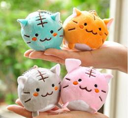 Wholesale 20PCS CM Mini Colorful Lovely Cat Kitty Plush Stuffed Animal Toy Doll Pendant Nice Gift