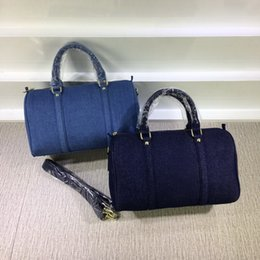 Wholesale New style arrivals High Quality denim cloth bag Women s Shoulder Bags Cross Body Totes outer handbags