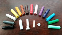 Wholesale of sets colors Nasal Inhaler Parts For Filling Essential Oils Parts Per Set