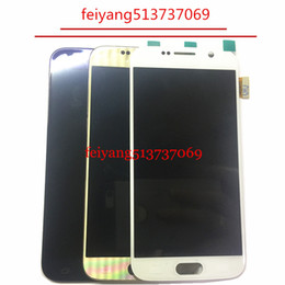 Original LCD display with touch screen digitizer assembly for Samsung Galaxy S6 G920 G920f