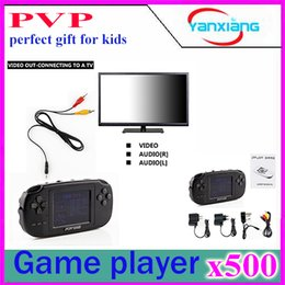 500pcs console de jeux vidéo de poche PVP 3 pouces rétro joueur de jeu cadeau parfait pour les enfants YX-XK-PVP à partir de enfants jeux vidéo fournisseurs