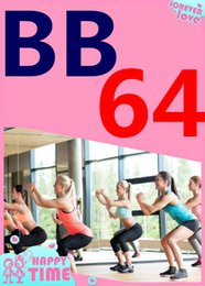 on Hot Sale New Routine Course BB 64 Aerobics Fitness Exercise Tai Chi Yoga Pilates BB64 Video DVD + Music CD Free Shipping