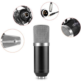 Wired Condenser Microphone for Karaoke and Studio Recording MIC with Audio Accessories & Parts
