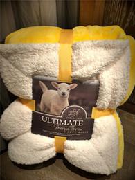 Размеры одеяло Онлайн-Супер мягкое толстое коралловое флисовое фланелевое одеяло двух размеров 8 цветов