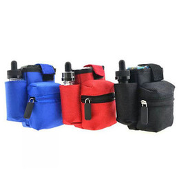 Vapor Pouch Bag Protable Vapor Bag Double Deck Vapor bag vape mod carrying case for Kanger Nebox DHL Free Ship