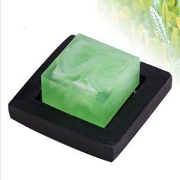 Wholesale Chinese Aloe handmade soap moisturizing cleansing oil control washing face man and woman take a shower