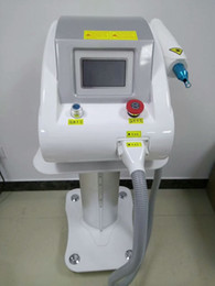 New Version Laser beauty equipment portable q switched nd yag laser tattoo removal machine