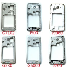 High-Quality Middle Bezel Housing Frame With Camera Lens Replacement Parts For Samsung Galaxy I9060 G7102 G6000 G530 J500 J700