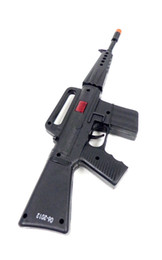 Wholesale Plastic Machine Gun Rifle Toy as Military Army Soldier Gun Automatic Fire Sound