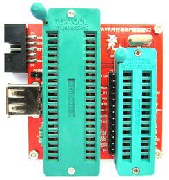 Wholesale High Voltage Serial Parallel AVR programmer Unlocker ATtiny2313A