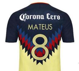Thai Quality Customized 17-18 Home Yellow-Black men 22 P.Aguilar Soccer Jerseys shirts,Cheap 24 O.Peralta 8 Mateus 9 S.Romero Soccer Wear