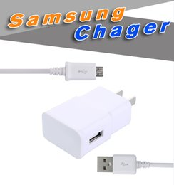 Wholesale Samsung USB Charger Output V A V A Hi Speed Wall Charger with US EU Plug and V V AC Power Adapater for Samsung S6 N