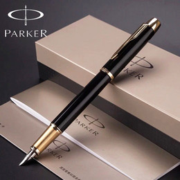 5 Color Full Metal Parker IM Fountain Pen Business Parker fountain Pen Luxury Gift pen Office Writing Supplies