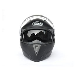 Wholesale Jiekai with Inner Sun Visor double lens Motorcycle Helmet capacete motorcycle Flip Up helmet men women full face helmet