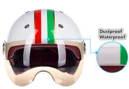 Wholesale 2016 high quality suitable for men and women universal motorcycle protective safe motor Electrombile scooter Half Helmets