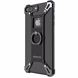 Nillkin Bumper for Apple iPhone 7  7 Plus Case Cover Metal Frame Case for iPhone7 Plus Cover Shockproof Shield + Ring Holder