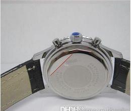 Free Shipping Chronometre Navitimer Automatic Movement Men Watches Black Leather Strap Brand Watch For Men Mechanical Wristwatch