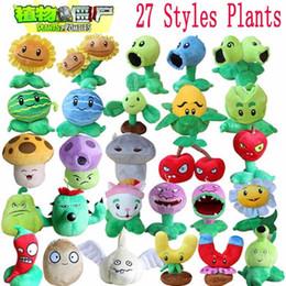 1pcs Plantes vs Zombies Peluches Plantes 13-20cm vs Zombies PVZ Plantes Soft peluche jouets en peluche jouet Figure jouet pour les enfants à partir de jeux vidéo pour les enfants fournisseurs
