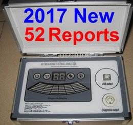 2017 New 6th Generation 52 Reports 6 Core Quantum Magnetic Resonance Analyzer with Comparative Report English Spanish Amway DHL Free