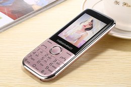 Wholesale Moda ultrafino recta de pantalla grande de voz fuerte de rey doble tarjeta de música de la cámara de música teléfono de repuesto teléfonos celulares rectos