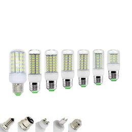 Promotion ampoule g9 conduit SMD5730 Ampoules LED E27 GU10 B22 E14 G9 7W 9W 12W 15W 18W 360 angle ampoule LED 220V 110V Led Lampe à maïs