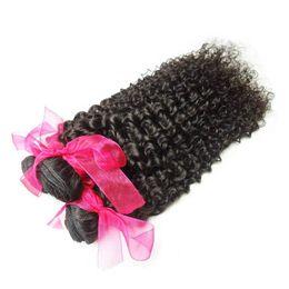 Unprocessed Peruvian Virgin Curly Hair ,4pcs lot Peruvian Remy Human Hair Weave Mix Length 14-28 Peruvian Human Hair Extensions