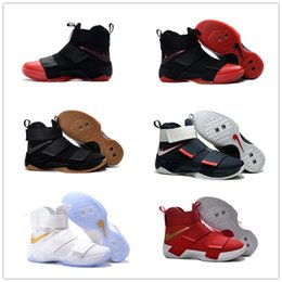 Wholesale 2016 Top quality james Soldiers X Men s Basketball Shoes for Cheap Sale Sports Training Sneakers Size