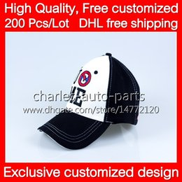 VIP Price HOT !! NEW COOL White Black Baseball Cap caps hat hats and DHL free shipping