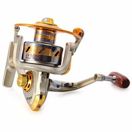 Wholesale Hot sale BB Sea Boat Fishing Reels EF1000 Series Aluminum Spool Superior Ratio Spinning Fishing Reel Spinning Reel