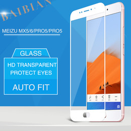 MEIZU MX6 PRO5 PRO6 Tempered Glass Protective Film Premium screen Protector film Mobile phone 9H 2.5D Toughened Membrane For