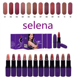 Wholesale Noël Nouveautés maquillage sexy Selena Dreaming of You matte rouge à lèvres couleurs g Meilleures ventes rouge à lèvres
