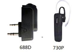 Hot Sale Handheld Radio Bluetooth Adaptor Apply to BaoFeng TYT Walkie Talkie Flashlight Portable Two Way Radio Only for: K intercoBa