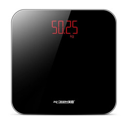 Bathroom floor scales smart household electronic bathroom digital Body bariatric LED display Division value 180kg=400lb