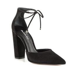 Promotion chaussures habillées pour les femmes prix Prix d'usine Sandales sexy femmes Sandales à lacets en érable à l'avant Chaussures à talons hauts Salons femme Chaussures femme
