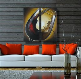 Hand painted modern wall art living room home decor beautiful