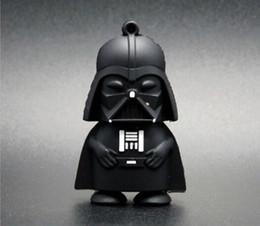 Usb chaud lecteur flash en Ligne-Hot Star wars dessin animé Darth Vader USB 2.0 lecteur flash memory stick pendrive 64 Go 32 Go 16 Go 8 Go Véritable 100% neuf