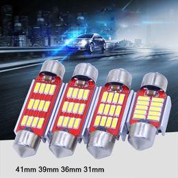 Automotive Lumière de lecture LED Canbus 31mm 36mm 39mm 41mm 4014 SMD Double-Pointed Décodage Toit 31mm 36mm 39mm 41mm 4014SMD Licence de lampe double reading light promotion à partir de à double lampe de lecture fournisseurs