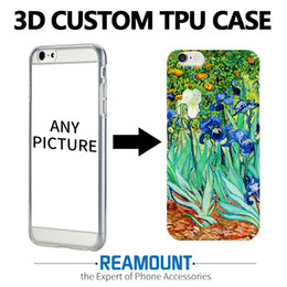 200pcs DIY 3D Embossing Soft Silicone Tpu Case For Apple iPhone 7 Case With Dust Plug Back Cover For iPhone 7 plus