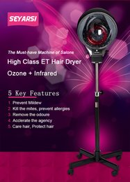 Wholesale 2017 High quality must have hair care machine ozone and infrared hair dryer hair steamer