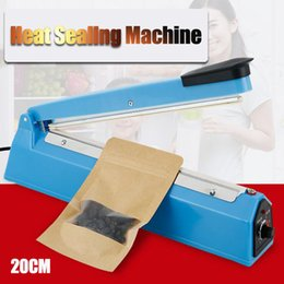 "8"" 20cm Heat Sealing Machine Impulse Sealer Seal Machine Plastic Bag Closer"