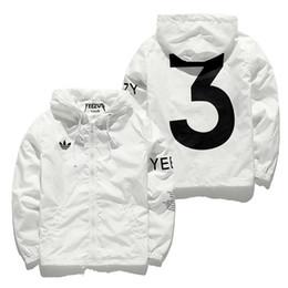 The United States SIZE quality 2017 jacket men's brand fashion lovers shirt hip-hop men's YEEZUS windbreaker Y-3 zipper casual jacket