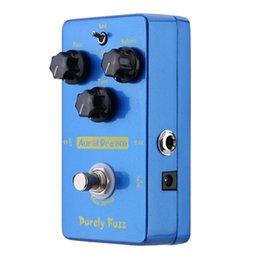 Wholesale High Quality Aural Dream Pruely Fuzz Effect Electric Guitar Effect Pedal Smart Single Effect with True Bypass Guitar Parts