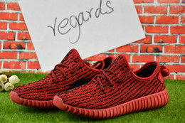 Wholesale 2017 Cheap Online Kanye West Boost Pirate Black Low Sports Running Shoes Women Men Sneakers Training Boost Eur36
