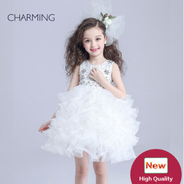 Wholesale pageant dresses for children shop online importing from china lower girl dress less high quality luxury baby clothes pageant dresses